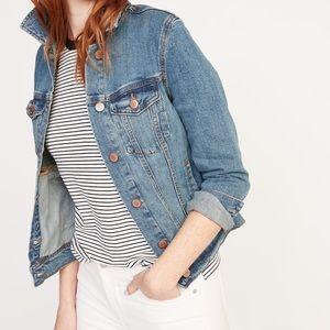 Cotton stretch denim jacket